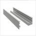 Profil U aluminiu cu clips 28x22x1.4 mm, 6 ml