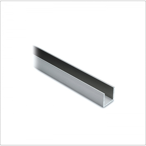 Profil U aluminiu 17x15x1.25 mm, 6 ml