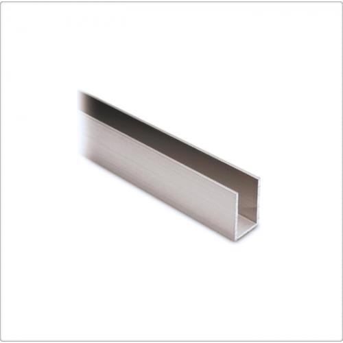 Profil U aluminiu 30x20x2 mm, 6 ml