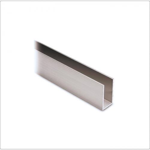 Profil U aluminiu 40x20x2 mm, 6 ml