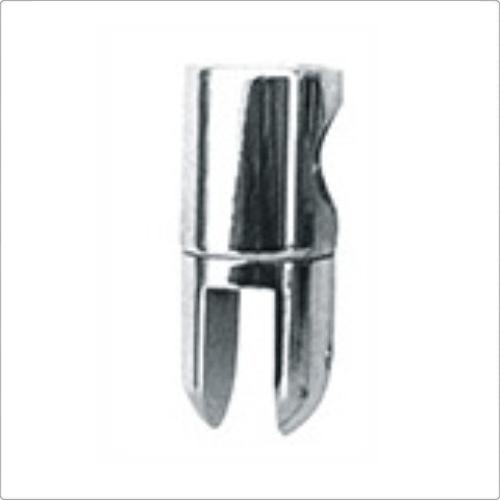 Conector stabilizare sticla-teava fara trecere